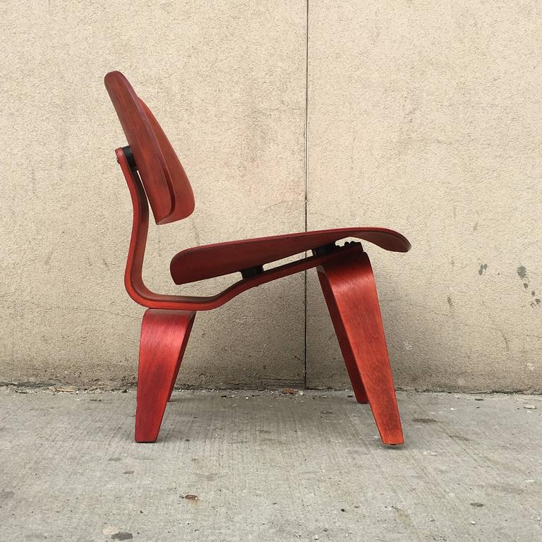 American Early Eames Evans LCW Lounge Chair