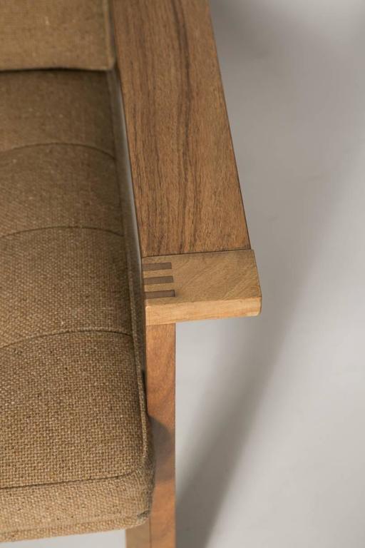 Danish Moduline Rosewood Sofa Love Seat For Sale