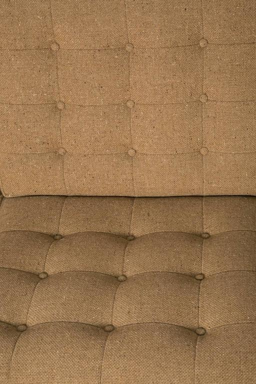 Moduline Rosewood Sofa Love Seat In Excellent Condition For Sale In Brooklyn, NY