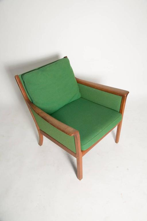 Ole Wanscher Japan Lounge Chair in Rosewood In Good Condition For Sale In Brooklyn, NY