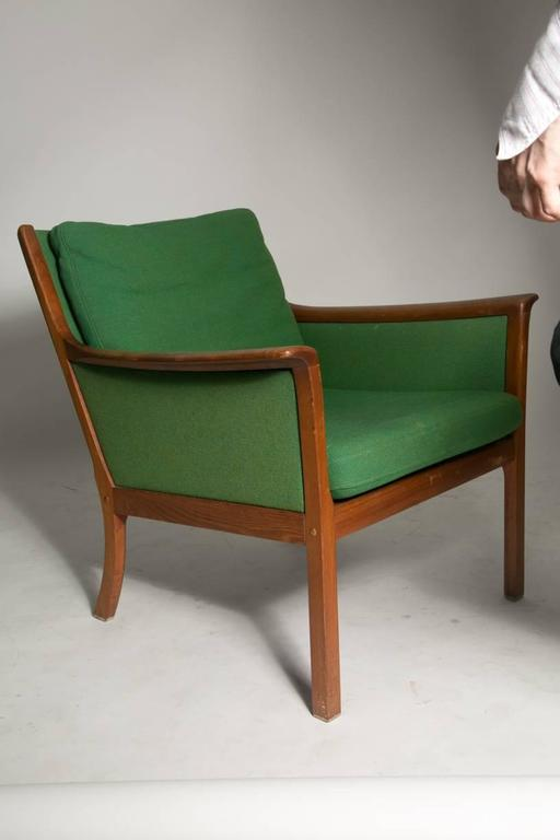 Danish Ole Wanscher Japan Lounge Chair in Rosewood For Sale