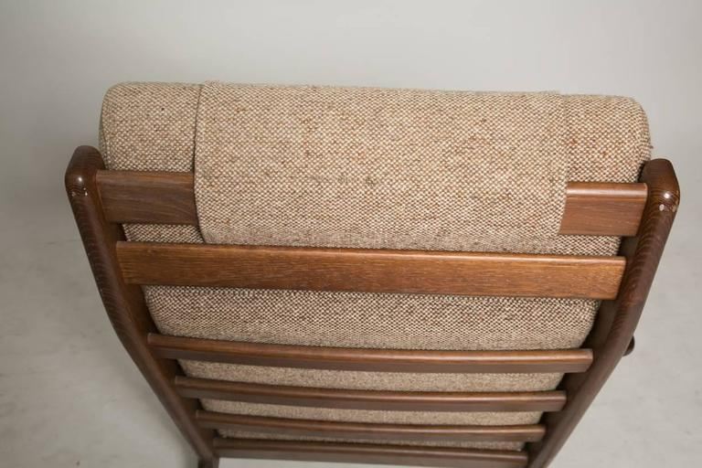 Scandinavian Modern Hans Wegner GE290 Lounge Chair for GETAMA For Sale