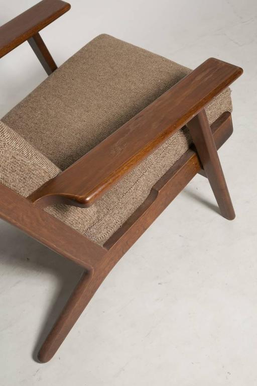 Danish Hans Wegner GE290 Lounge Chair for GETAMA For Sale