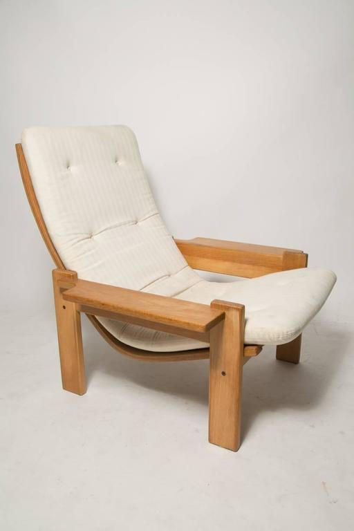 Swedish Extremely Rare Pair of Yngve Ekstrom for Swedes Møbler Super Lounge Chairs For Sale