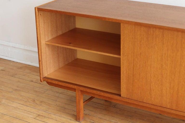 Mid-Century Modern Teak Danish Credenza For Sale 5