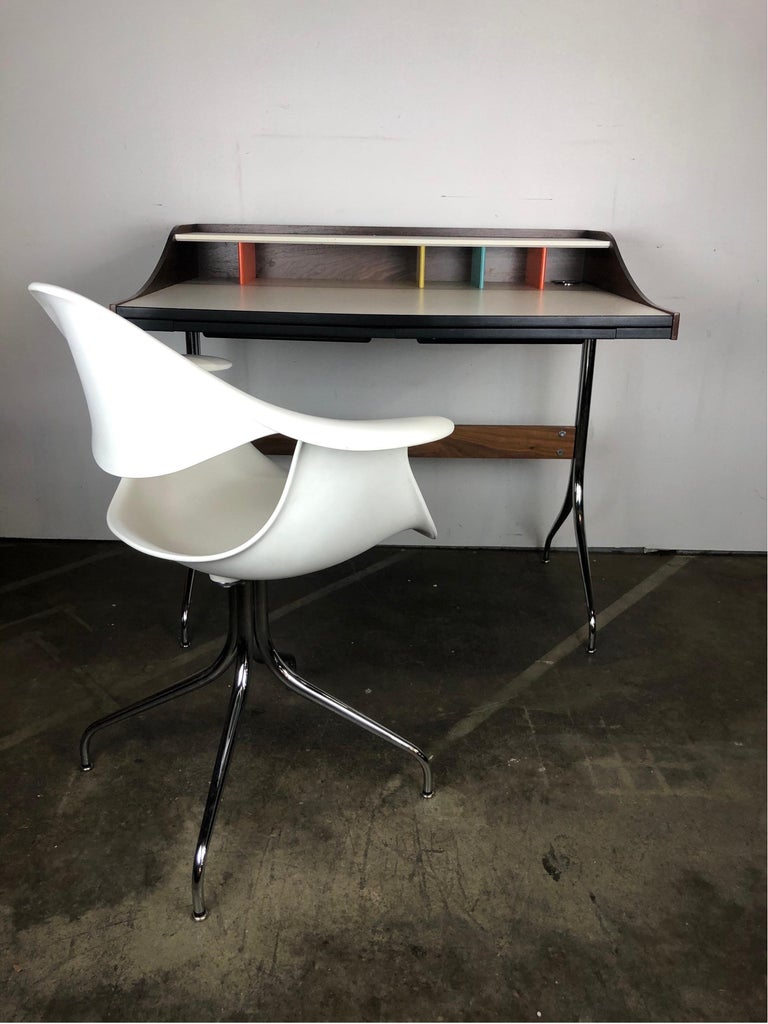 George Nelson for Herman Miller Chair and Swag Leg Desk 2