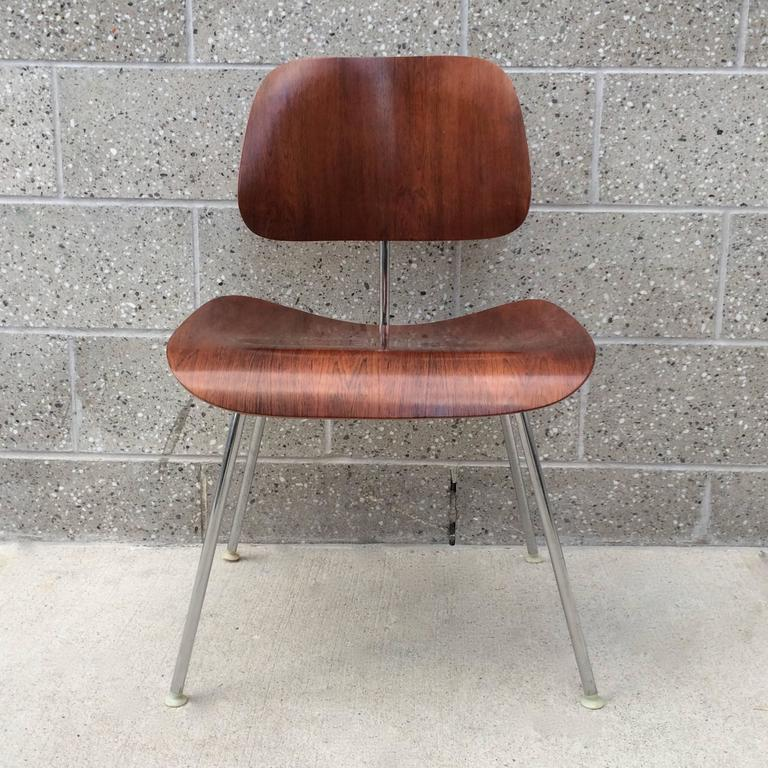 herman miller eames rosewood dcm chair for sale at 1stdibs
