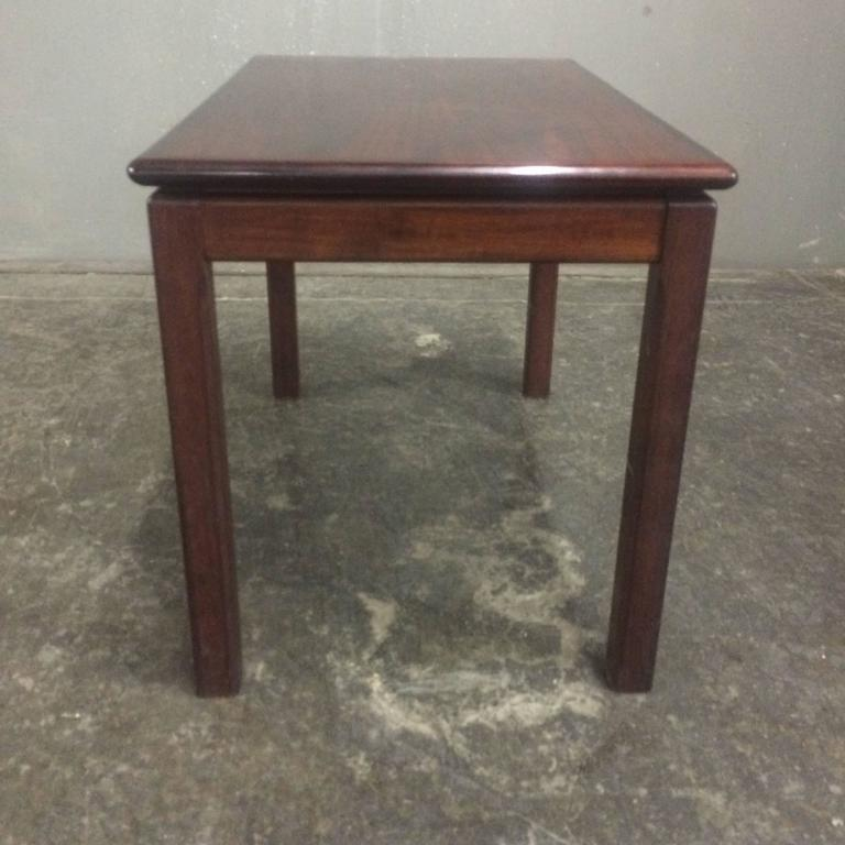 Bruksbo norway rosewood midcentury end table for sale at for Table th not bold