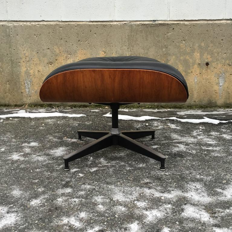 Rosewood Herman Miller Eames Lounge Chair and Ottoman 2