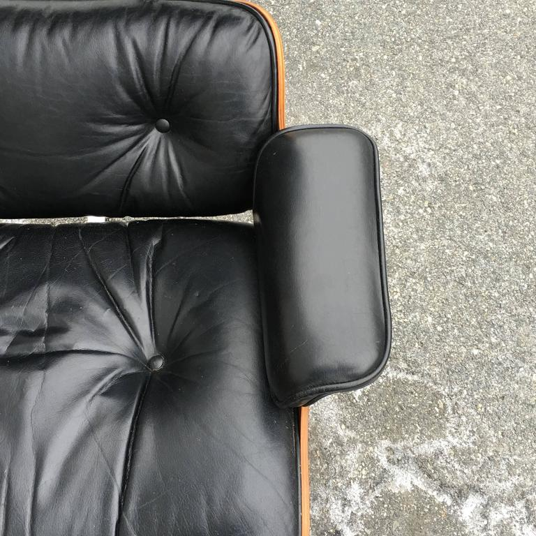 Rosewood Herman Miller Eames Lounge Chair and Ottoman 1
