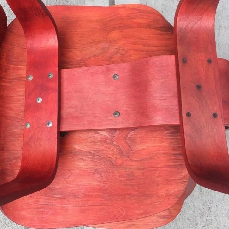 Early Eames Evans LCW Lounge Chair 1