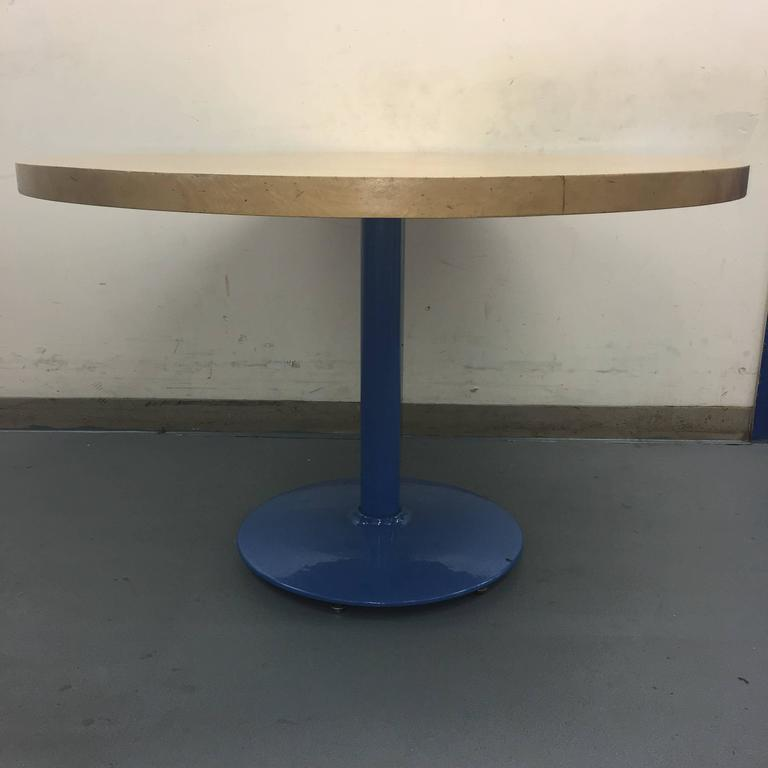 Modern Butcher Block Dining Table At 1stdibs