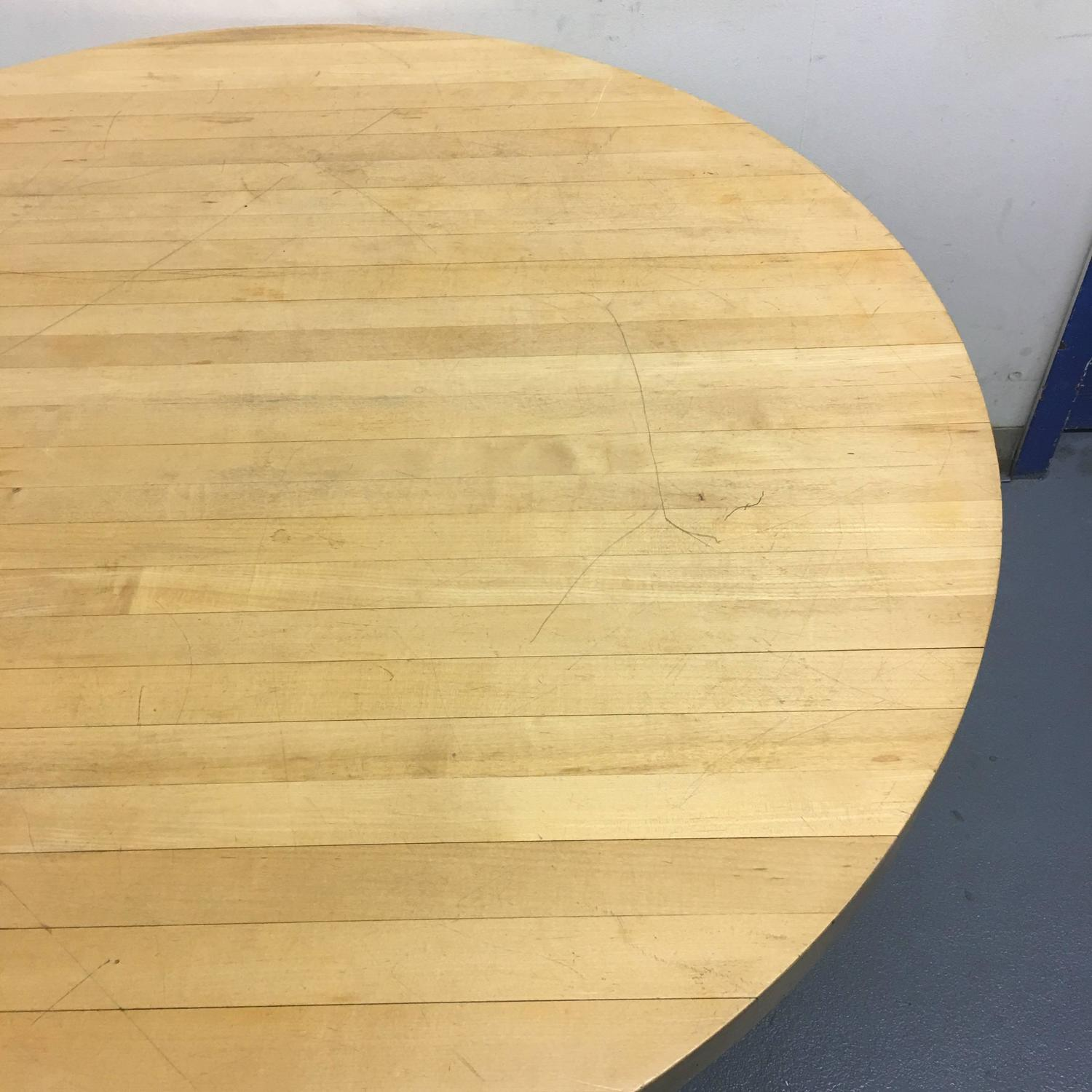 Modern Butcher Block Dining Table For Sale At 1stdibs