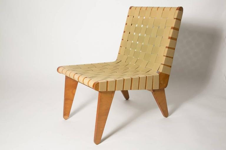 Klause Grabe Architect Built Strap Lounge Chair In Good Condition For Sale In Brooklyn, NY