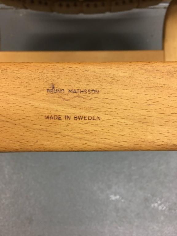 Scandinavian Modern Eva Lounge Chair by Bruno Mathsson for DUX For Sale