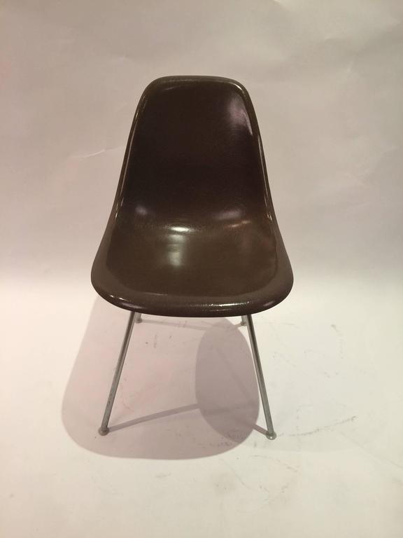 Herman miller eames dsx shell chair at 1stdibs - Herman miller chair eames ...