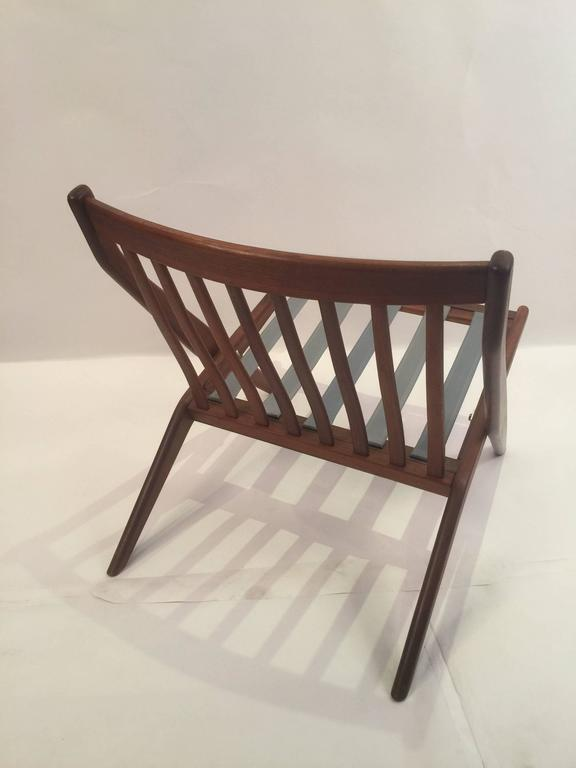 Swedish Pair of Folke Olhsson DUX Scissor Chairs For Sale