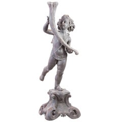Putto with Horn