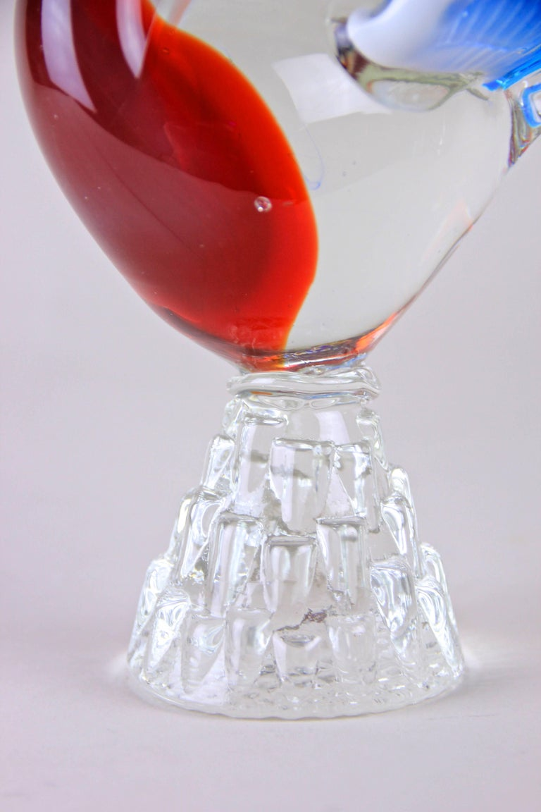 Murano Glass Swan, US Style, Italy, circa 1950 For Sale 3