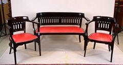 Seating Set by Otto Wagner for J&J Kohn, Austria, circa 1910