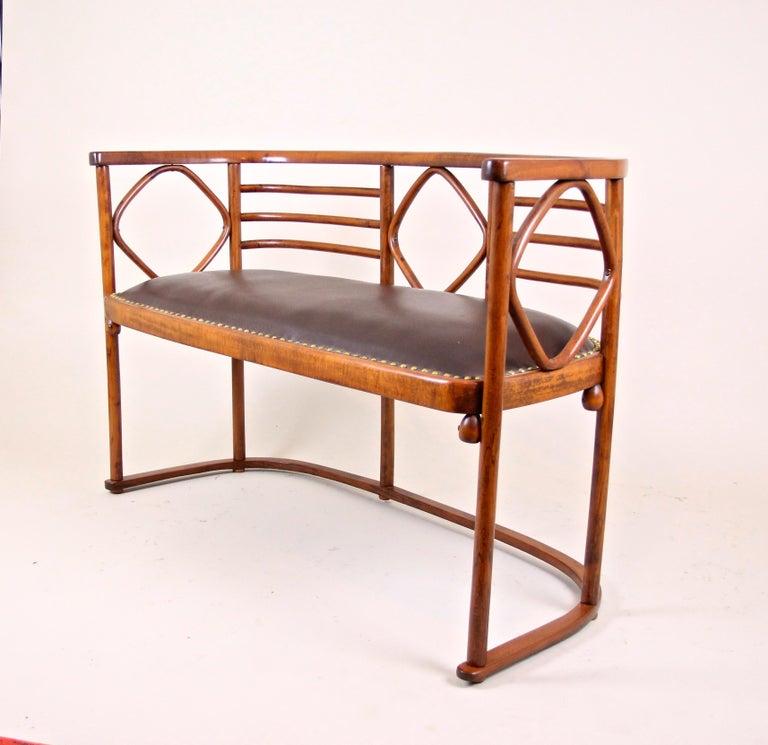 Austrian Bentwood Seating Set Attributed to Thonet/ Josef Hoffmann, Austria, circa 1910 For Sale