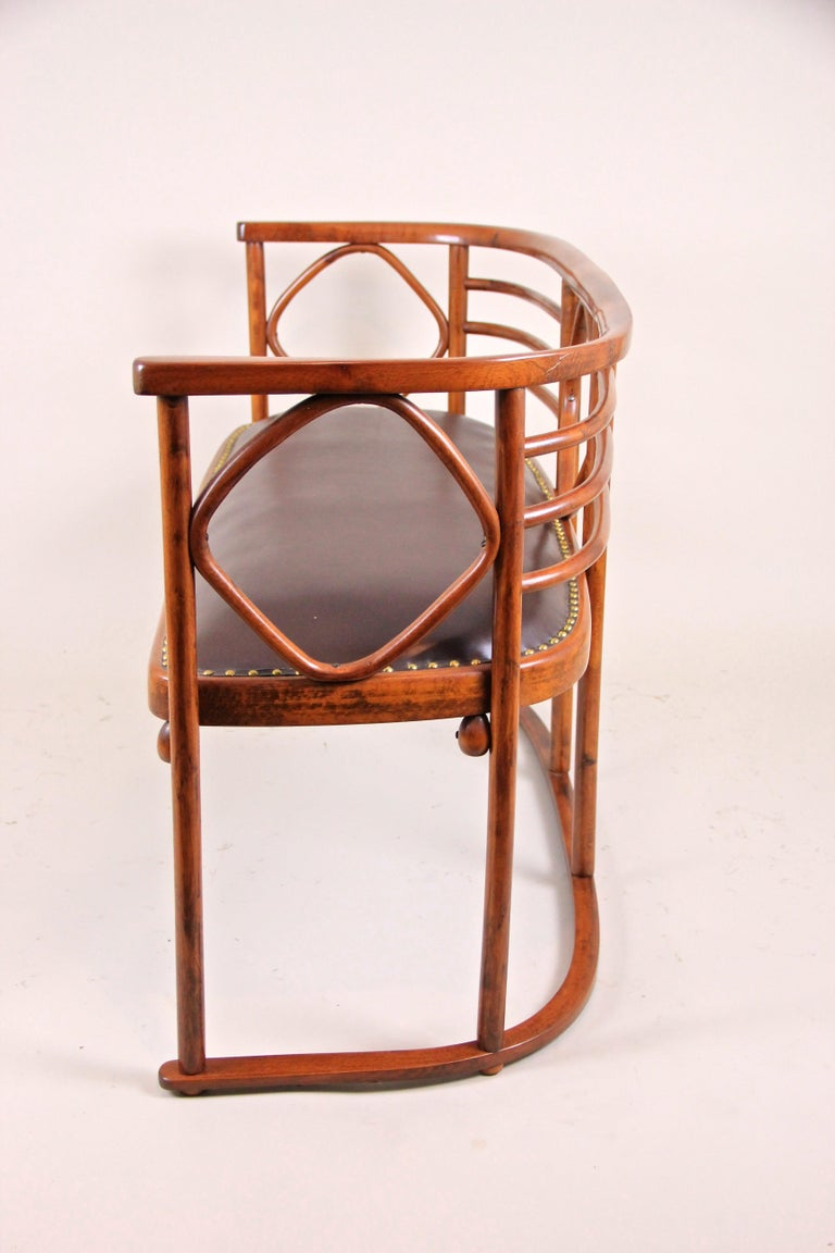 Bentwood Seating Set Attributed to Thonet/ Josef Hoffmann, Austria, circa 1910 In Good Condition For Sale In Lichtenberg, AT