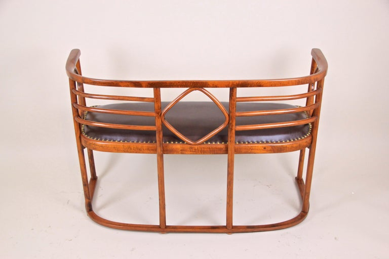 20th Century Bentwood Seating Set Attributed to Thonet/ Josef Hoffmann, Austria, circa 1910 For Sale