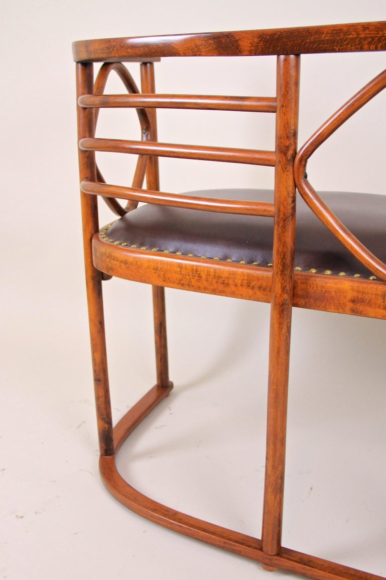 Bentwood Seating Set Attributed to Thonet/ Josef Hoffmann, Austria, circa 1910 For Sale 1