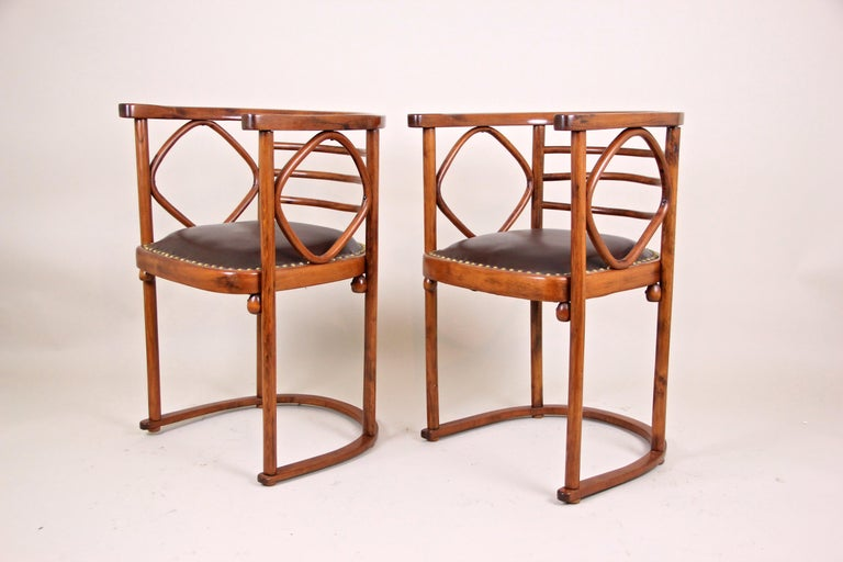Bentwood Seating Set Attributed to Thonet/ Josef Hoffmann, Austria, circa 1910 For Sale 4
