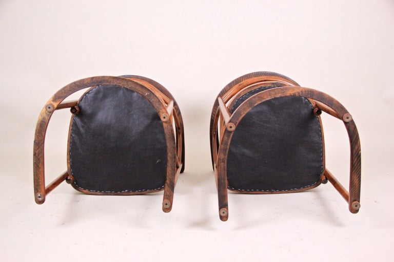 Bentwood Seating Set Attributed to Thonet/ Josef Hoffmann, Austria, circa 1910 For Sale 9