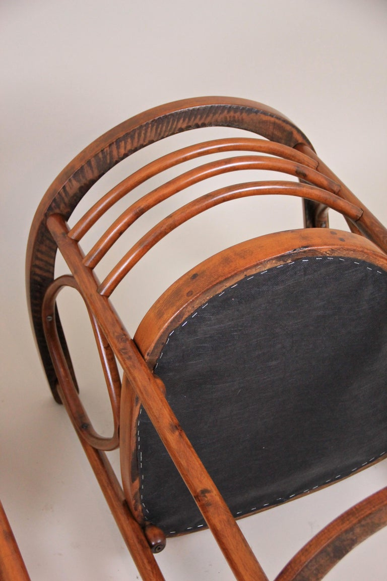 Bentwood Seating Set Attributed to Thonet/ Josef Hoffmann, Austria, circa 1910 For Sale 10