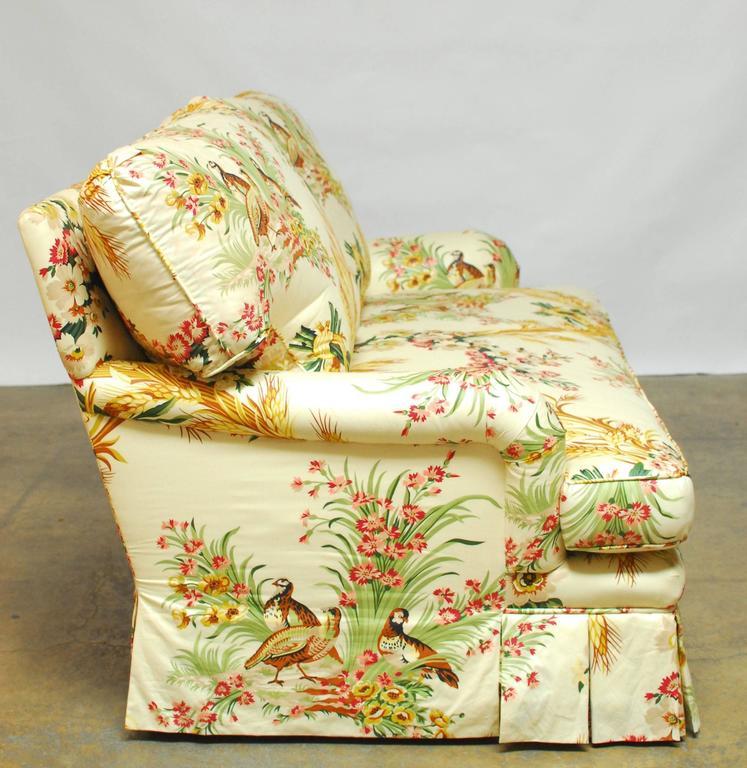 Fabulous Custom Sofa By Brunschwig Fils In A Stunning