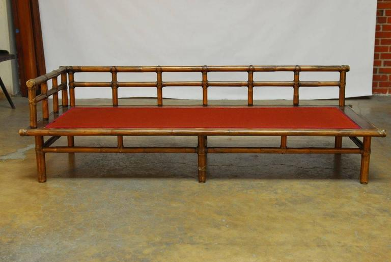 Asian Style Bamboo Daybed By Mcguire At 1stdibs