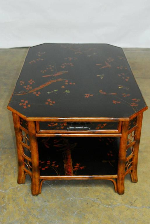 Theodore Alexander Indochine Bamboo Coffee Table At 1stdibs