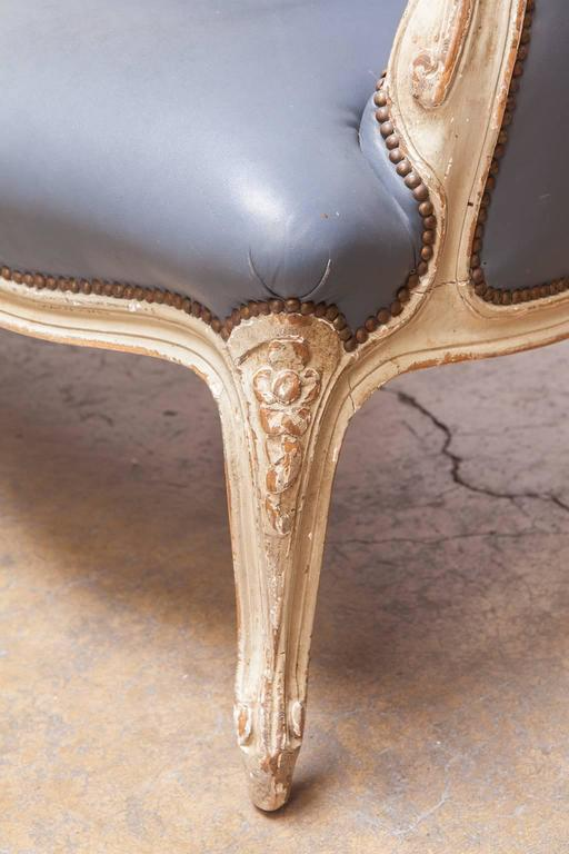 French Louis XV Painted Canapé for William Gaylord For Sale 4