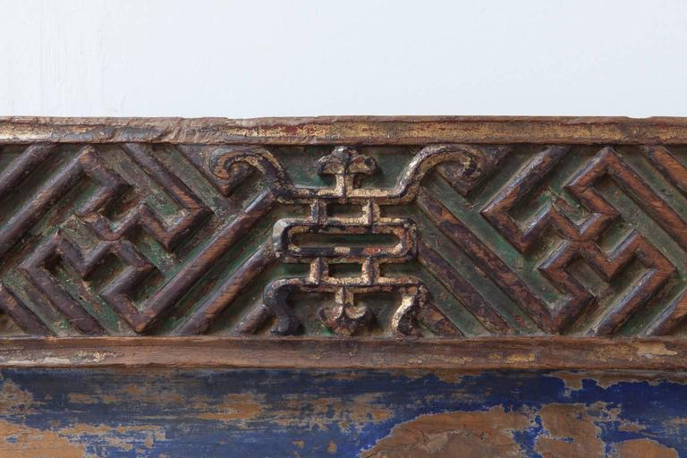 19th Century Chinese Carved Honorary Sign For Sale 1