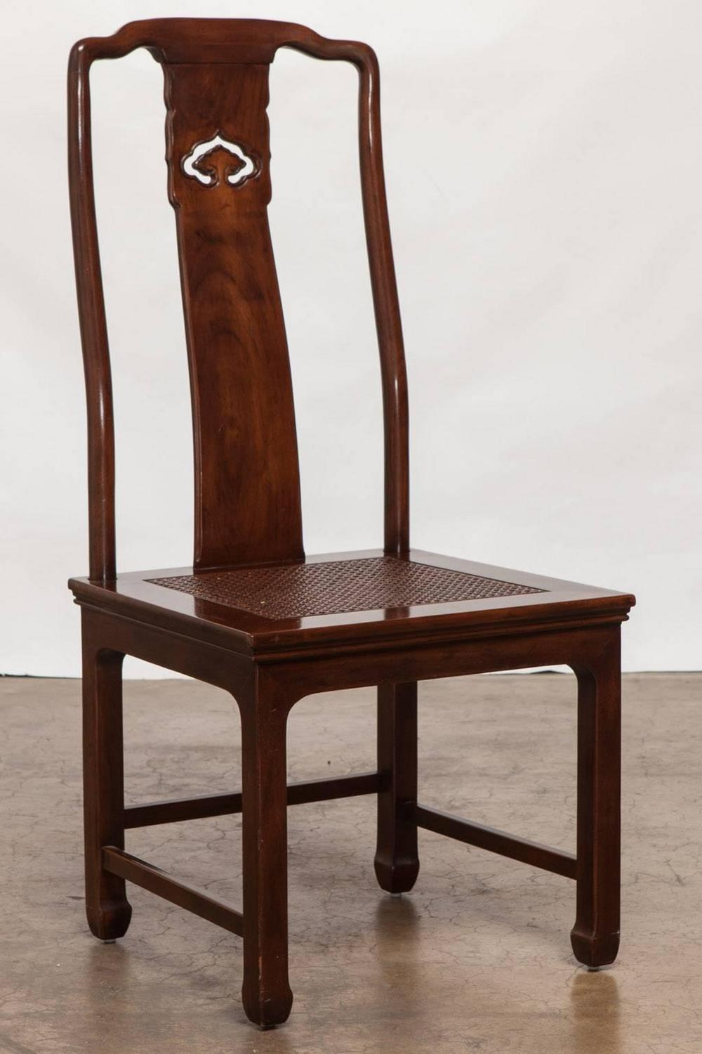 set of eight chinese ming dining chairs by henredon for