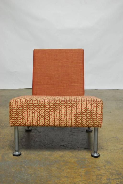 Set Of Three Brayton International Modern Chairs For Sale