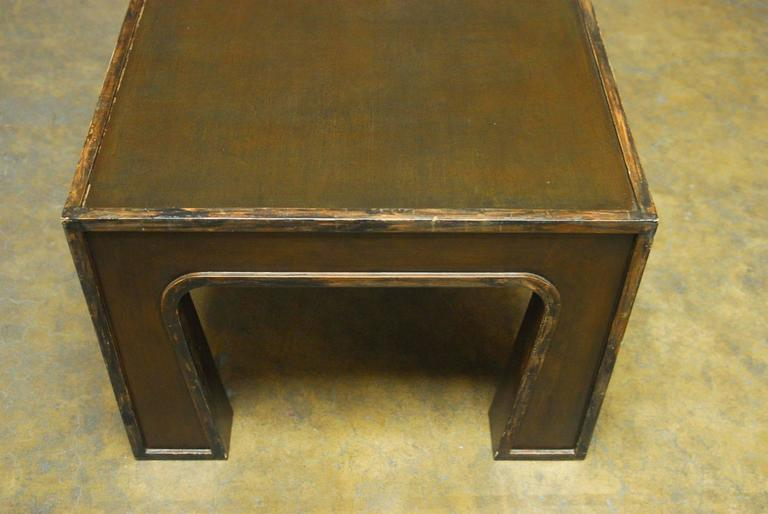 Chinese Modern Lacquered Coffee Table 7