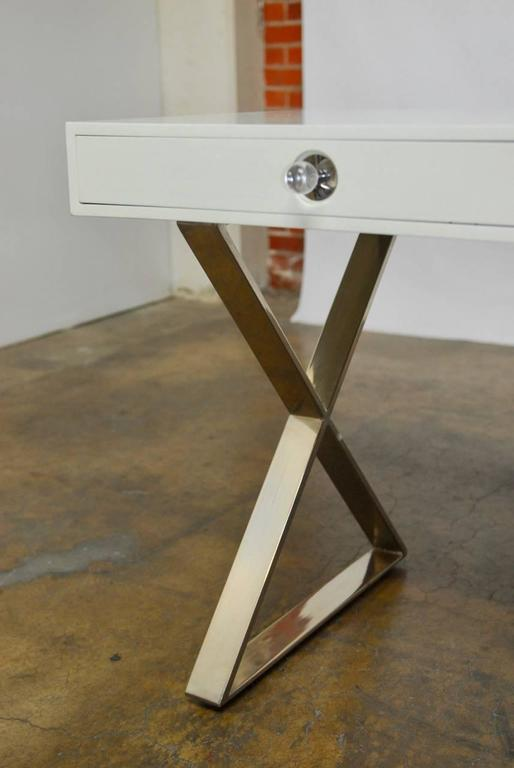 Jonathan Adler Campaign Style Channing Desk At 1stdibs
