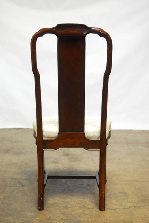 Set Of Seven Chinese Ming Dining Chairs By Drexel At 1stdibs