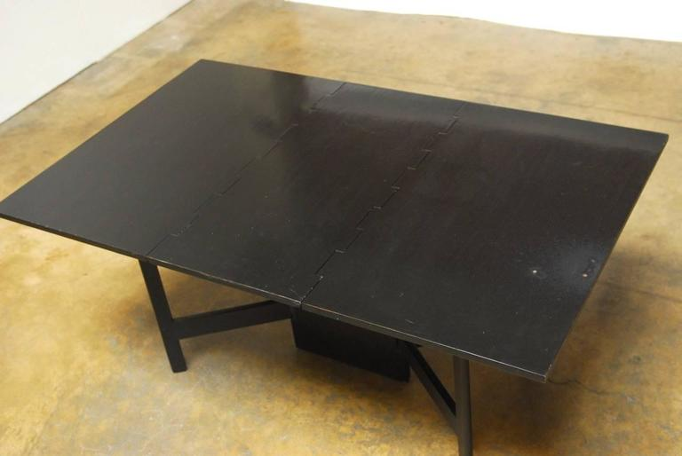 Walnut George Nelson for Herman Miller Drop-Leaf Dining Table For Sale