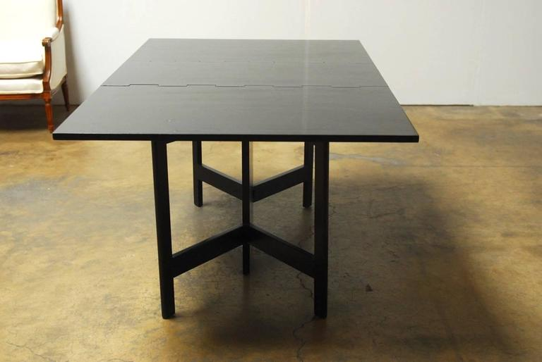 George Nelson for Herman Miller Drop-Leaf Dining Table For Sale 1