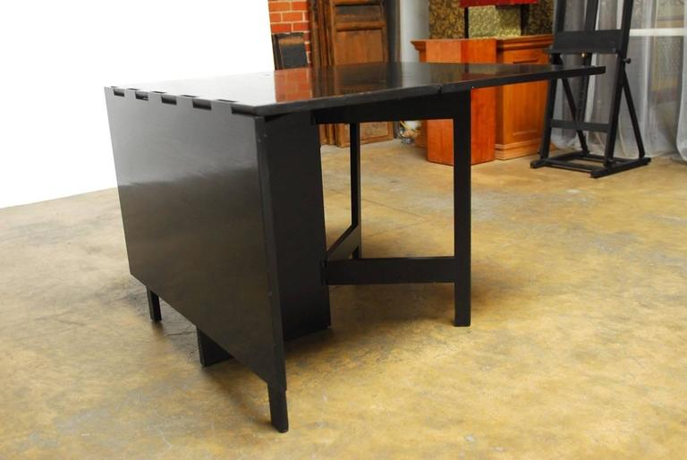 George Nelson for Herman Miller Drop-Leaf Dining Table 3