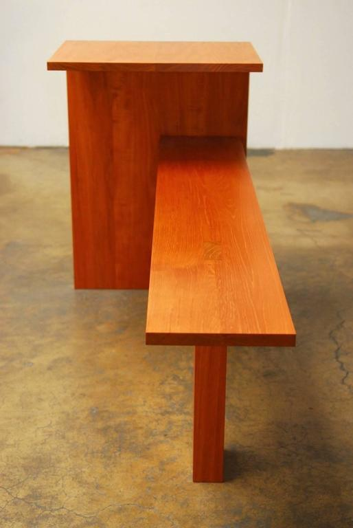 Modern Bench And Writing Table By Ed Clay For Sale At 1stdibs