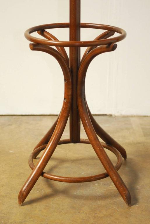 Thonet Style Bentwood Hall Tree Or Coat Rack For Sale At