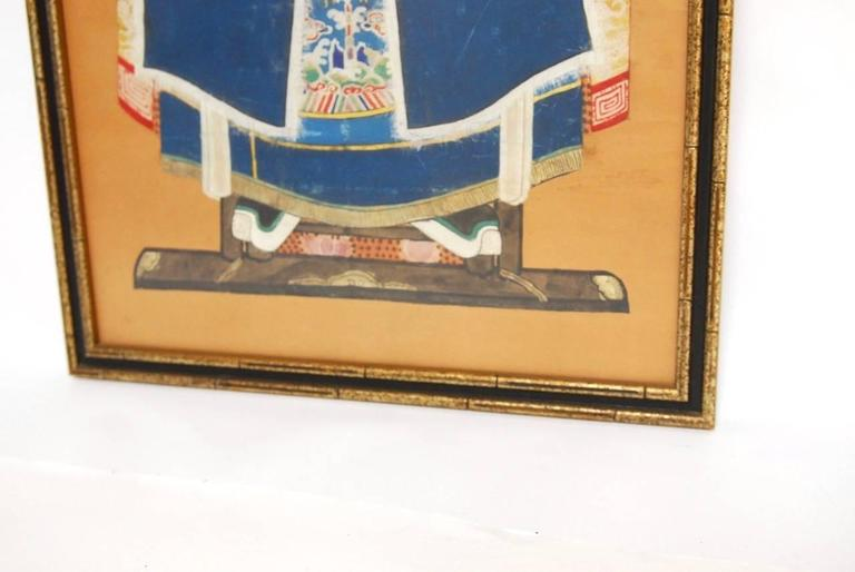 Chinese Qing Dynasty Ancestral Portrait For Sale 1