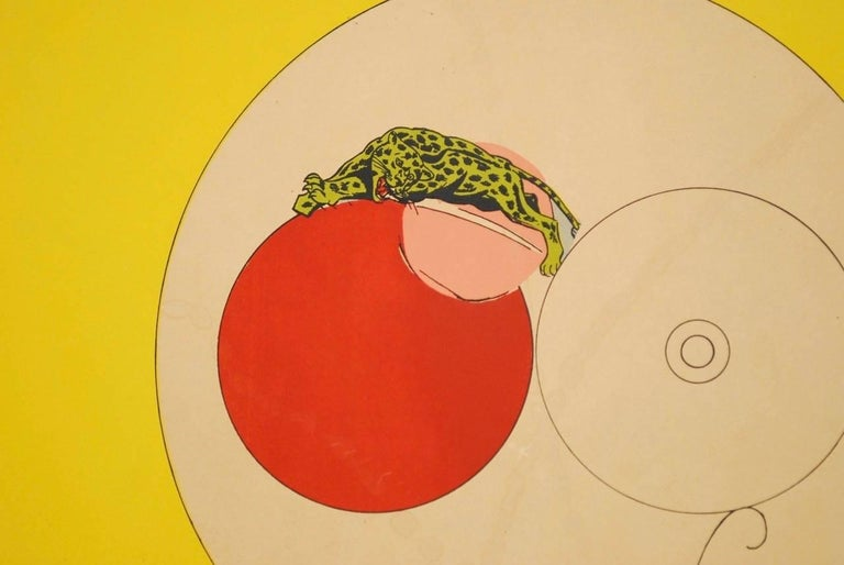 20th Century Richard Lindner U.C. Berkeley Exhibition Poster, 1969
