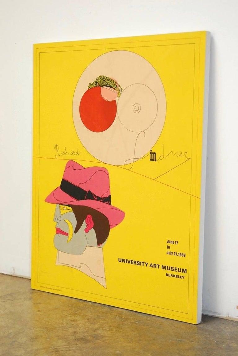 Wood Richard Lindner U.C. Berkeley Exhibition Poster, 1969