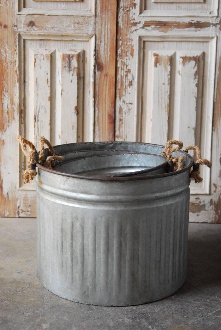 how to set a metal tub